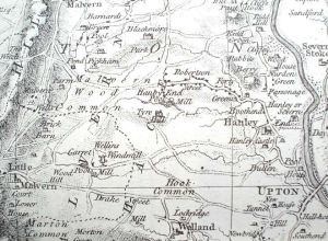 Hanley Map 1772