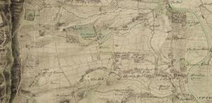 Hanley Map 1812