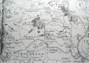 Hanley Map 1822