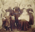 Davis, Henry, farrier & wheelwright, with his wife Maria & their 5 children, 1889