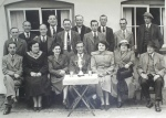 Ewe & Lamb darts team, 1950s
