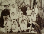 Hanley Castle Grammar School cricket team, c. 1890