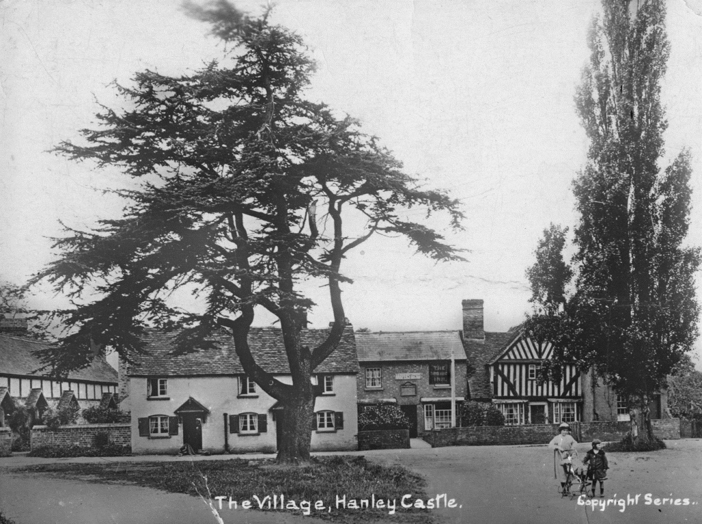 Hanley Castle village, c. 1920