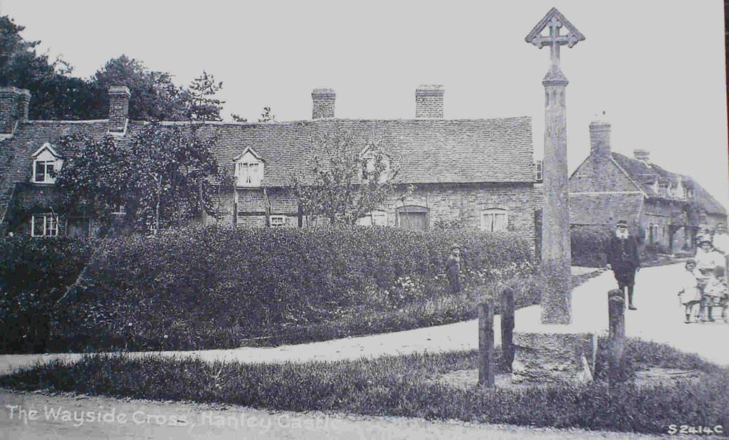 Hanley Castle, Wayside Cross, 1890s
