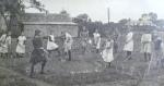 Hanley Swan, St Gabriel's school children 'digging for victory',1919