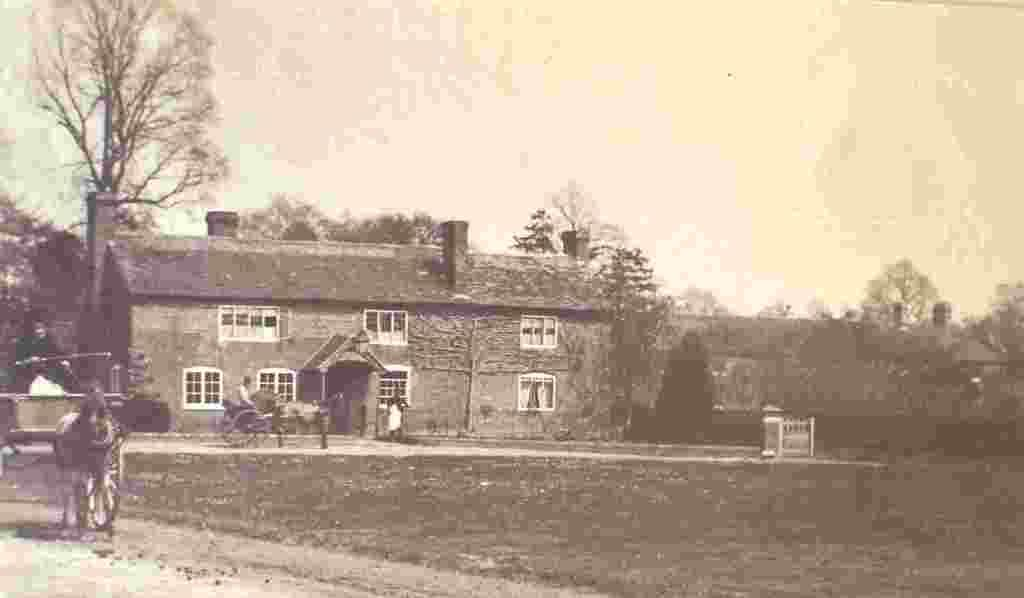 Hanley Swan, Swan Inn, c.1890