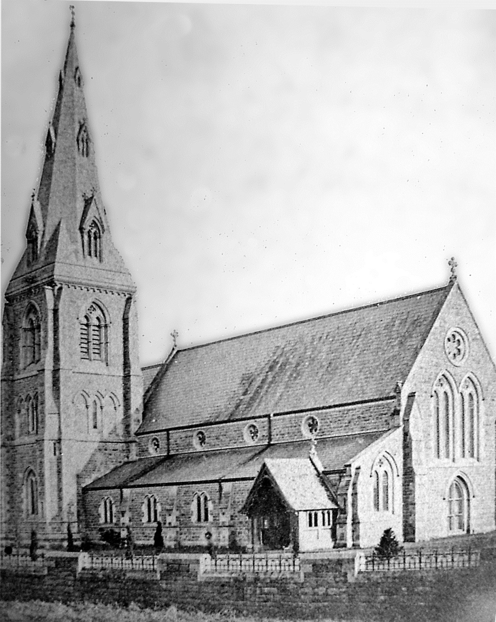 St Gabriel's church, 1874