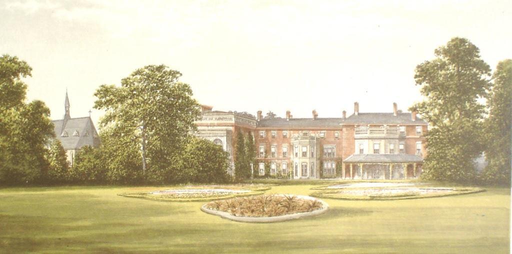 Rhydd Court, c. 1870 ( print)