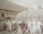 Severn End haymaking,1918