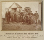 Severn End shooting party,1898