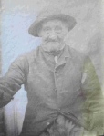 Yew Tree estate farm labourer, 1890s