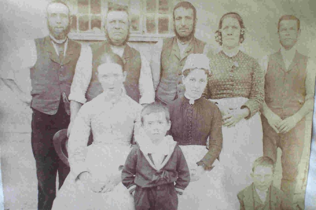 Yew Tree House staff, c. 1886