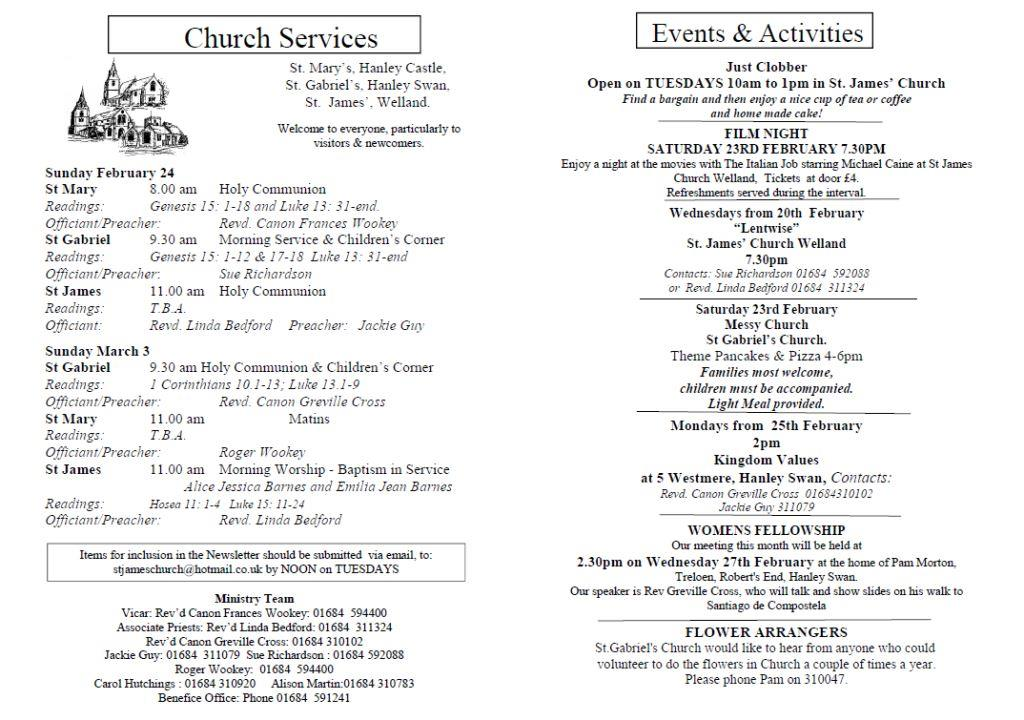 Church News 2013-02-24