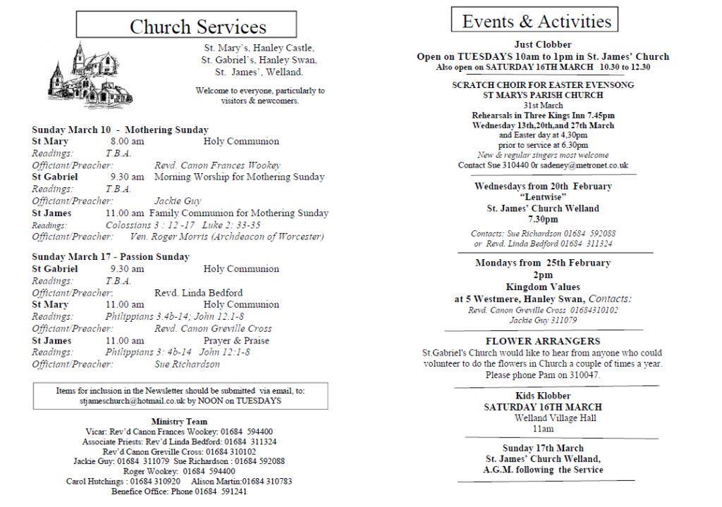 Church News 2013-03-10