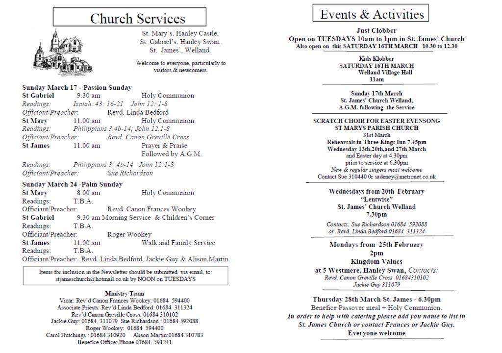 Church News 2013-03-17