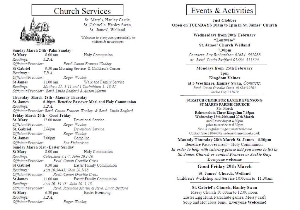 Church News 2013-03-24