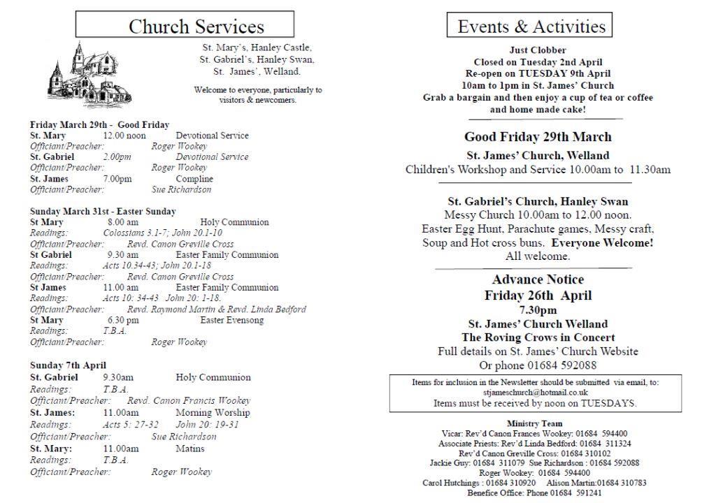 Church News 2013-03-31