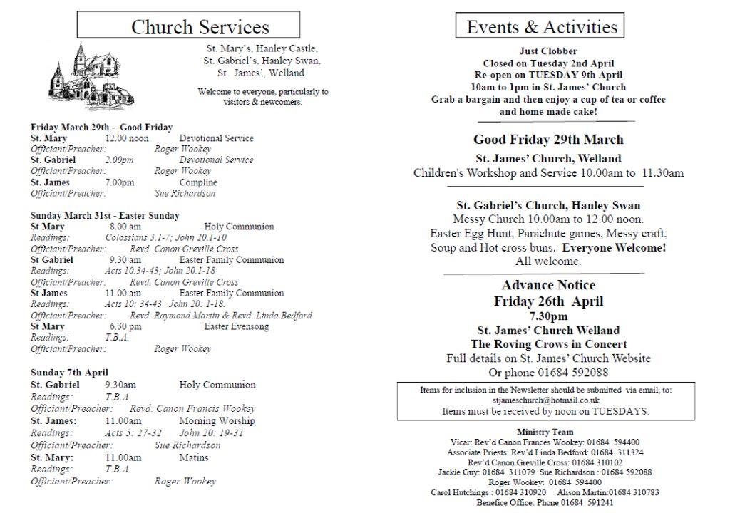 Church News 2013-03-31