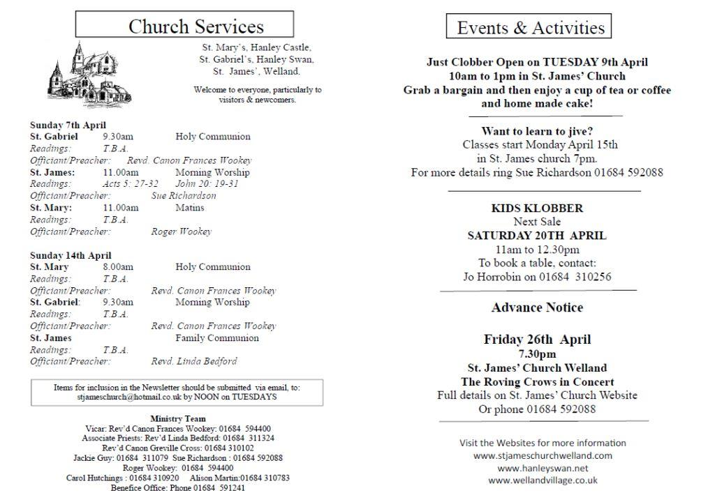 Church News 2013-04-07