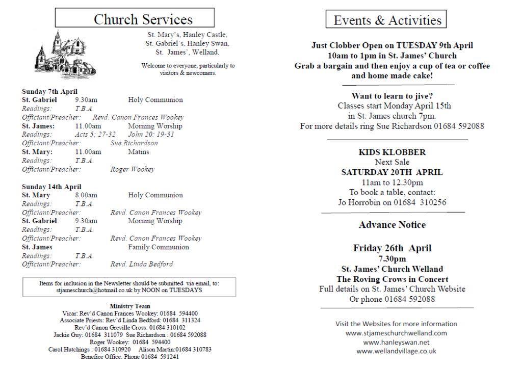 Church News 2013-04-07