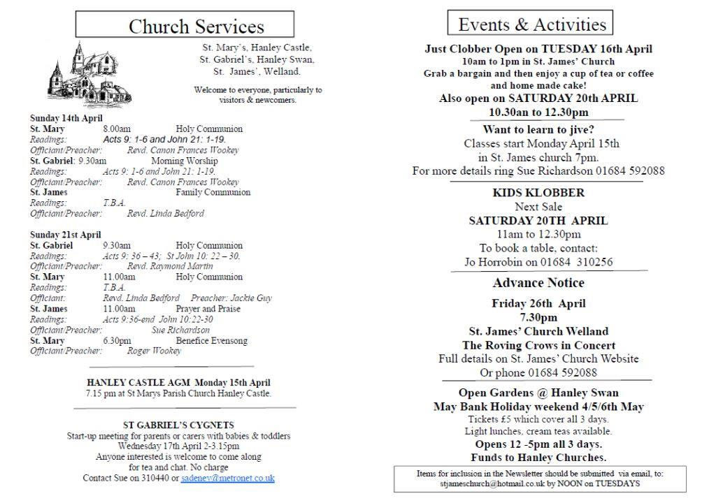 Church News 2013-04-14