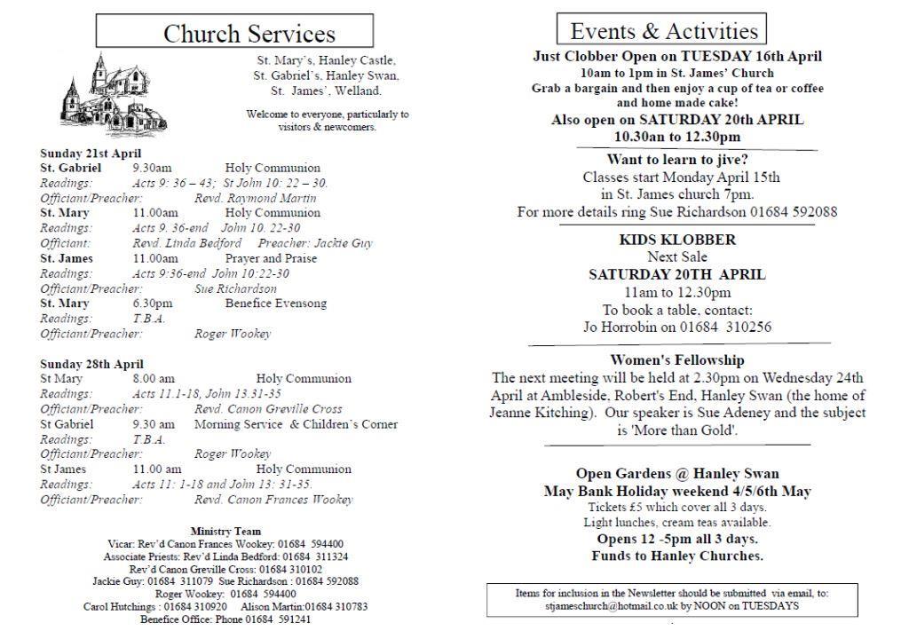 Church News 2013-04-21