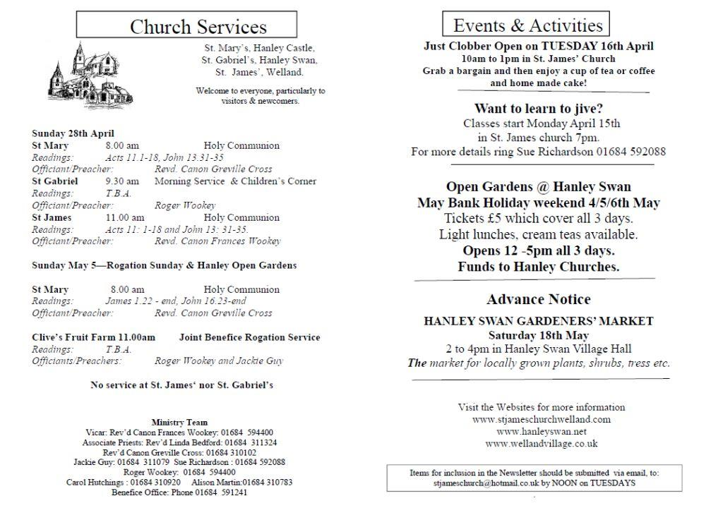 Church News 2013-04-28