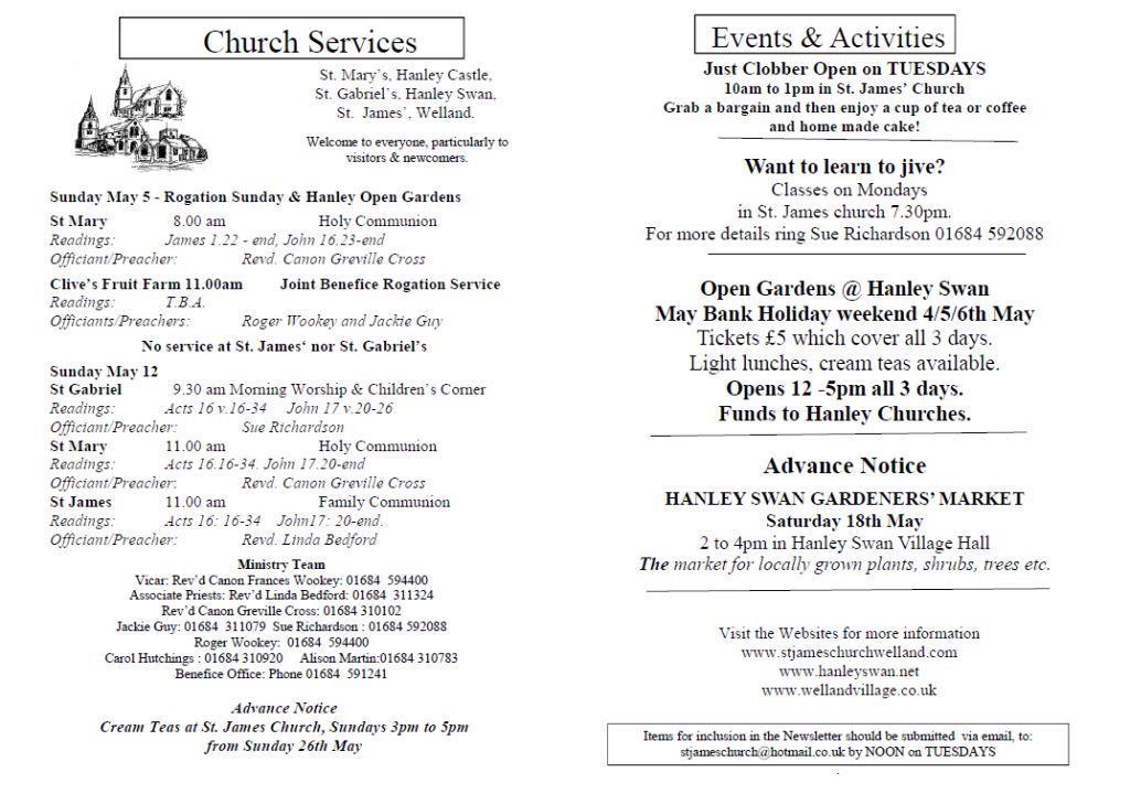 Church News 2013-05-05