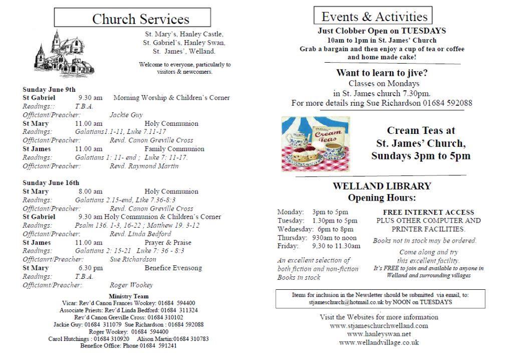 Church News 2013-06-09