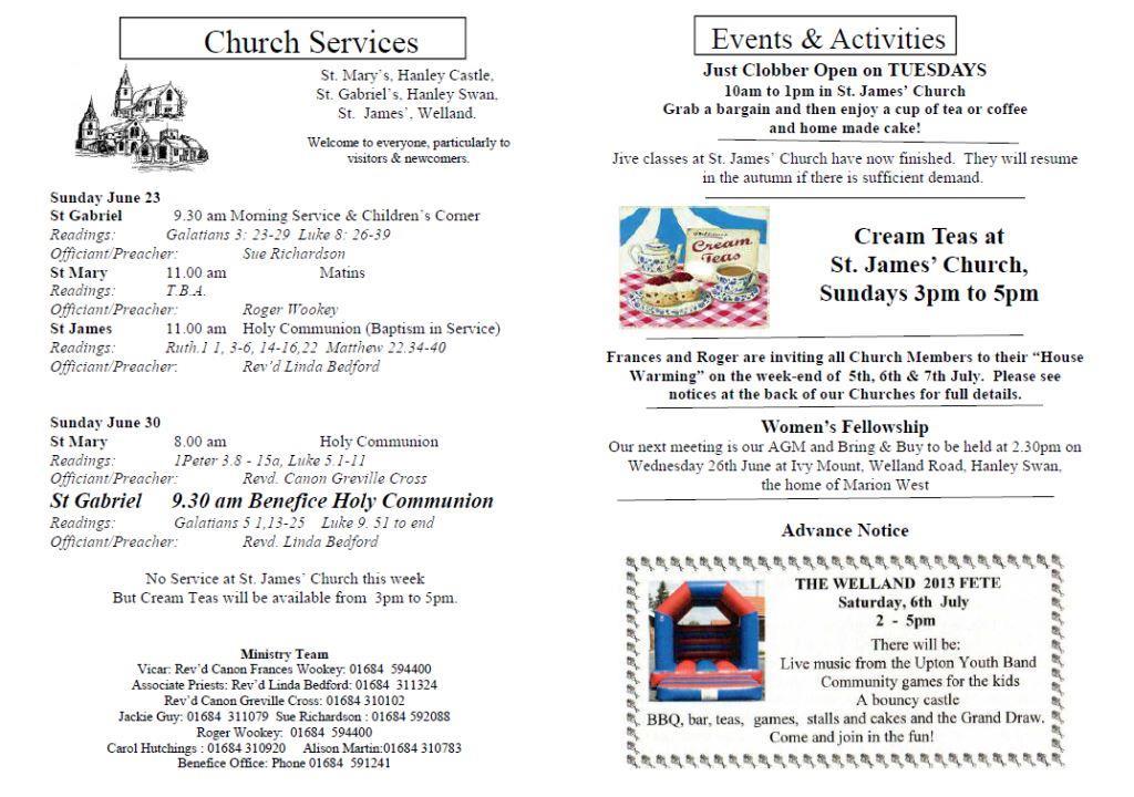 Church News 2013-06-23