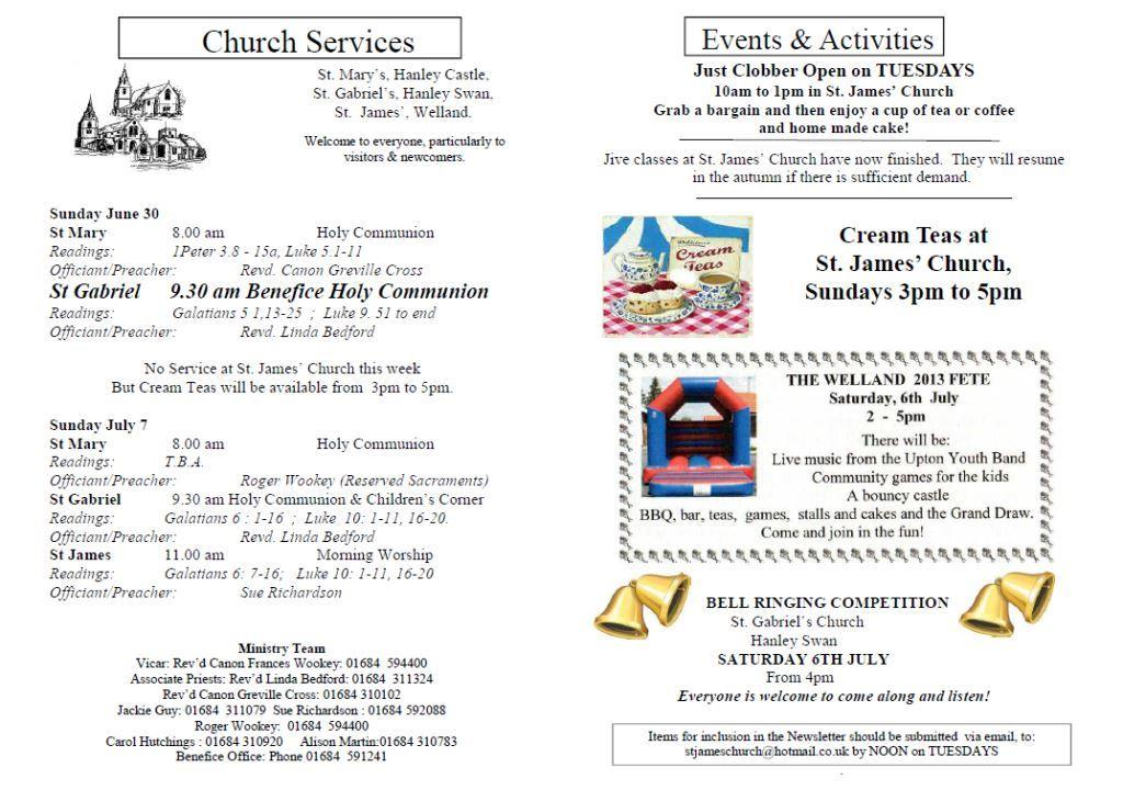 Church News 2013-06-30