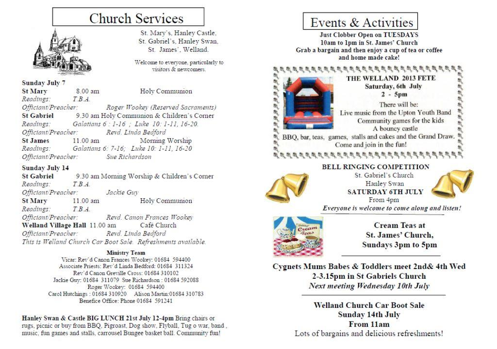 Church News 2013-07-07