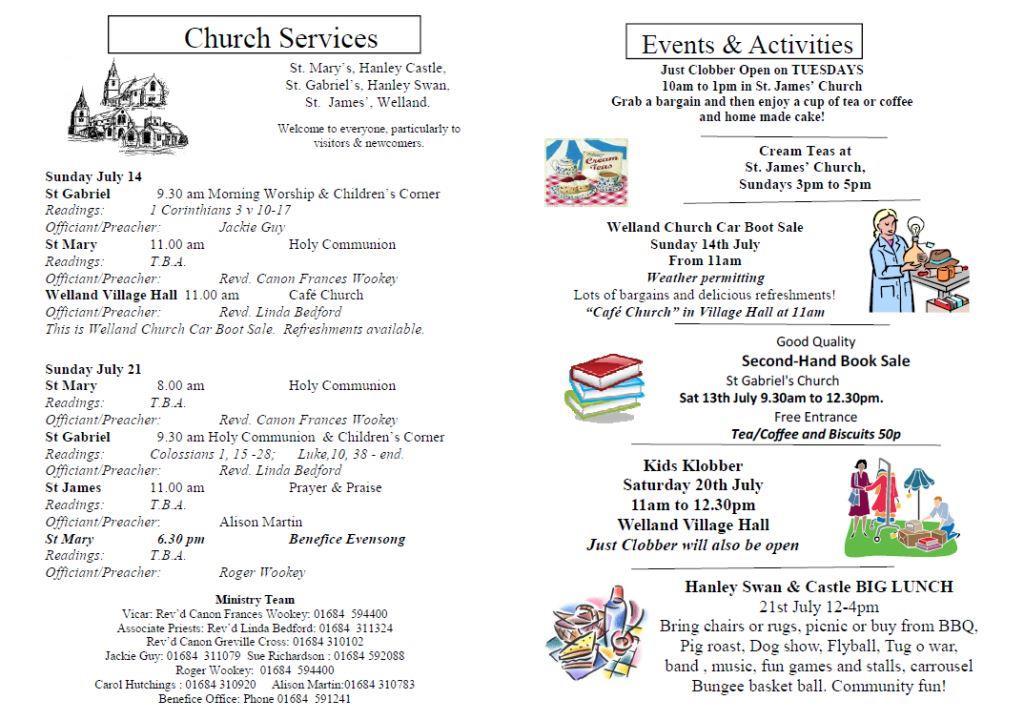 Church News 2013-07-14