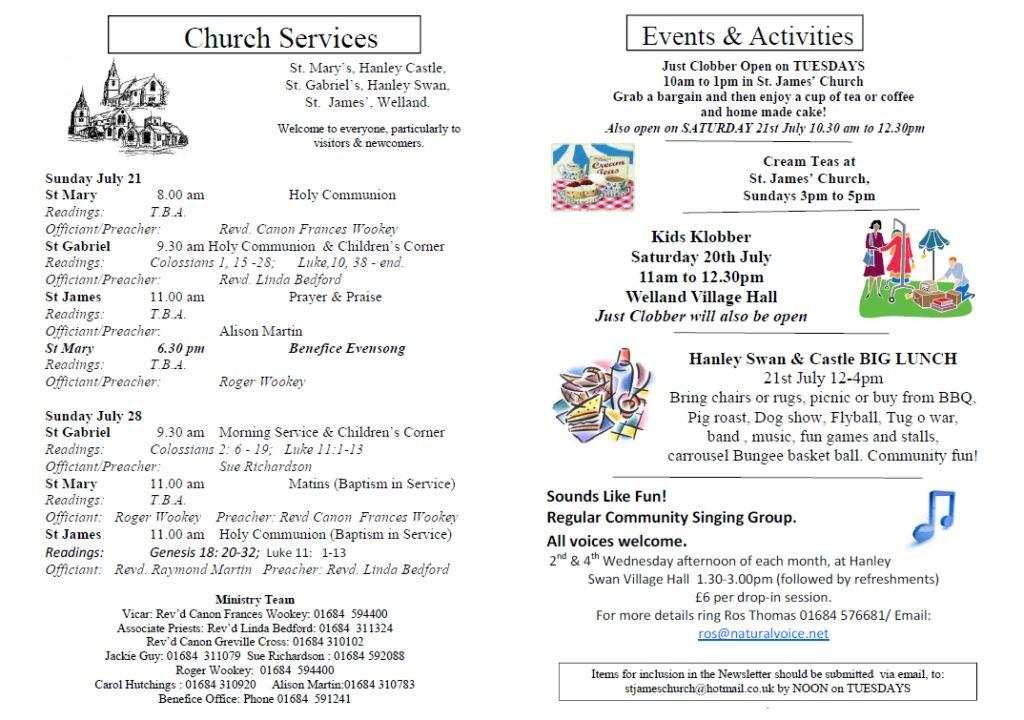 Church News 2013-07-21