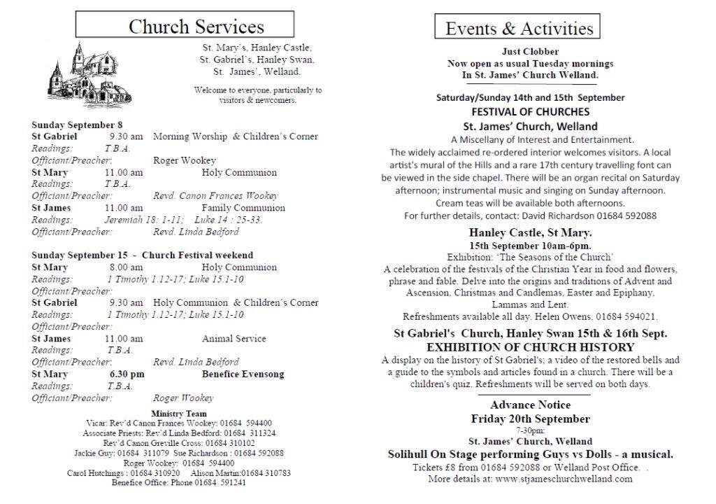 Church News 2013-09-08