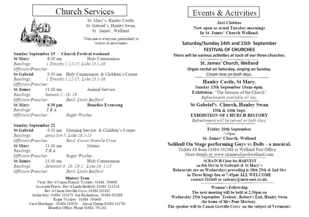 Church News 2013-09-15