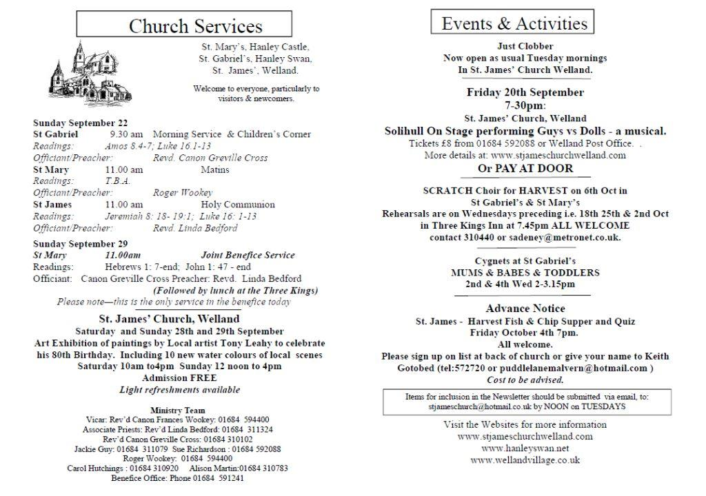 Church News 2013-09-22
