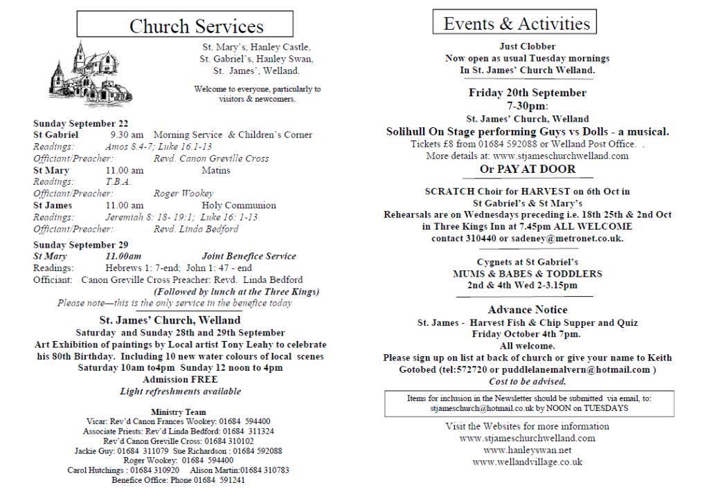 Church News 2013-09-22