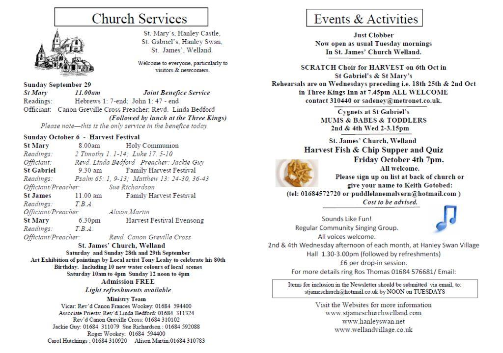 Church News 2013-09-29
