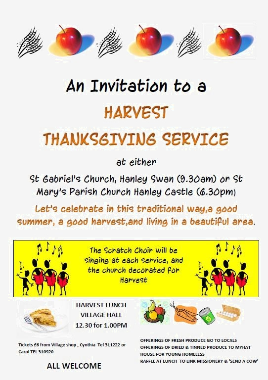 Harvest Thanksgiving Service (2013)