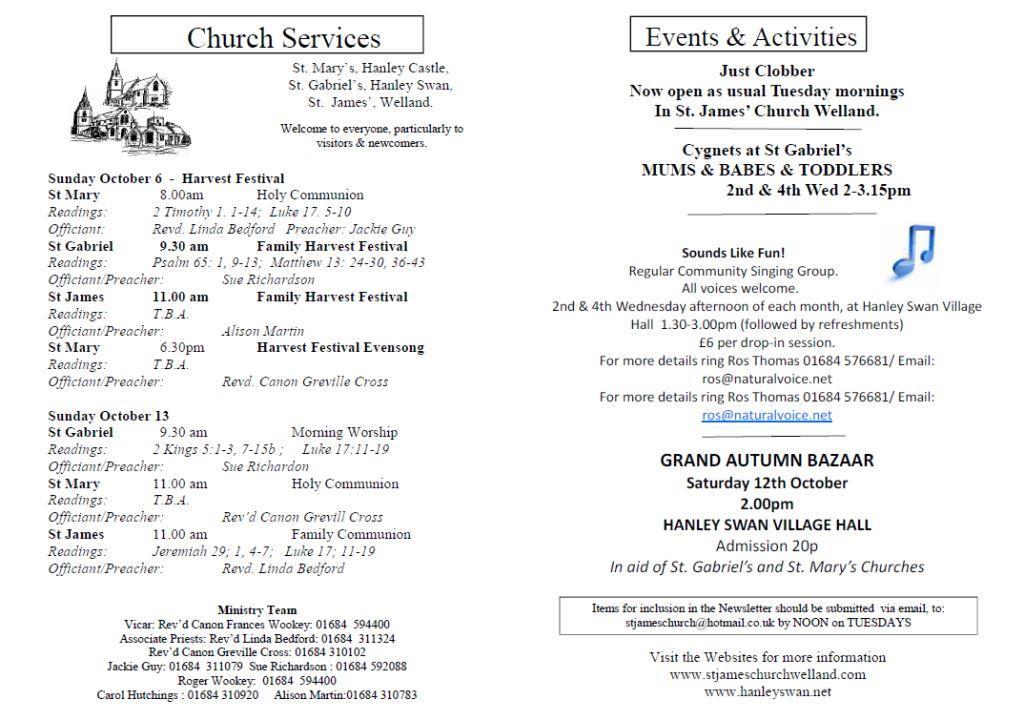 Church News 2013-10-06