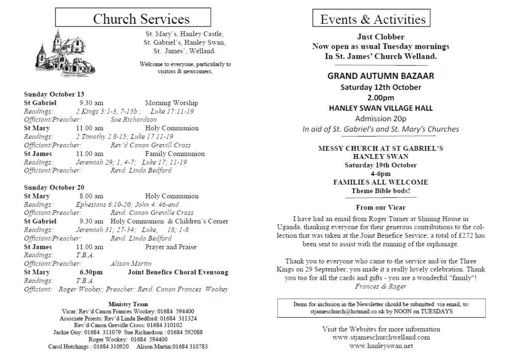 Church News 2013-10-13