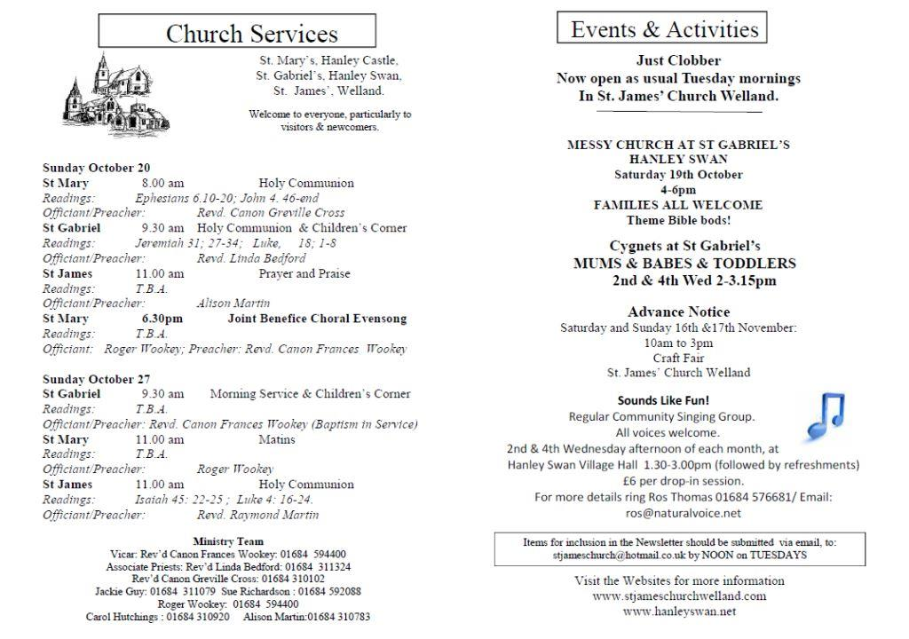 Church News 2013-10-20