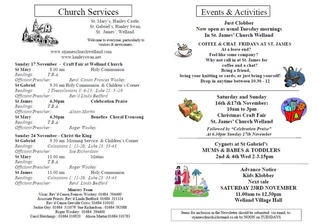 Church News 2013-11-17