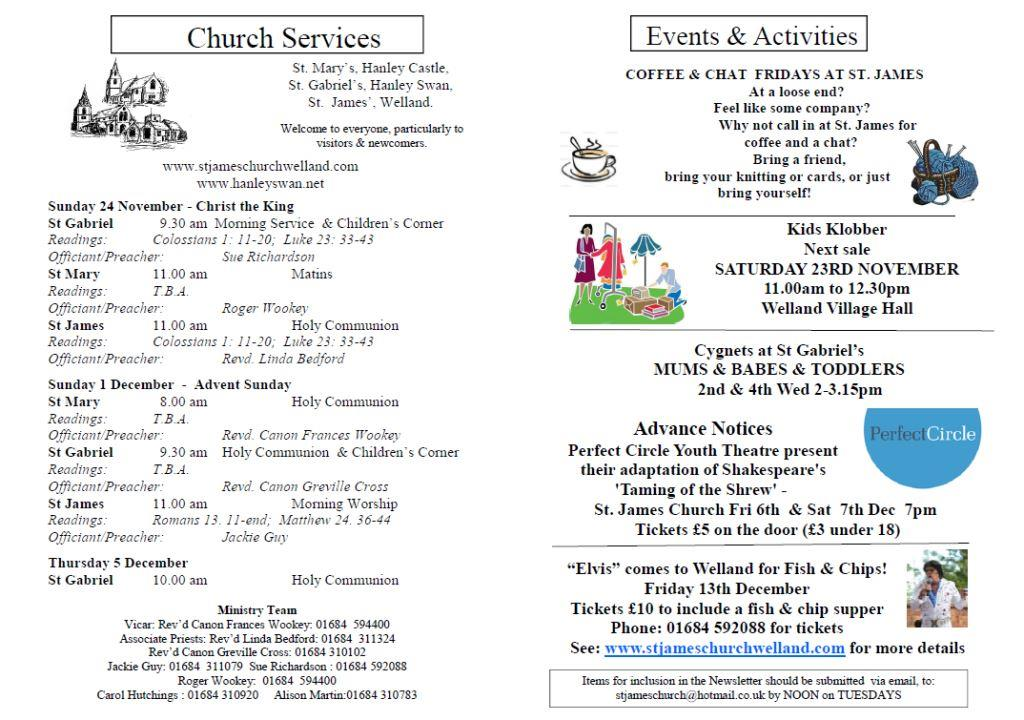 Church News 2013-11-24