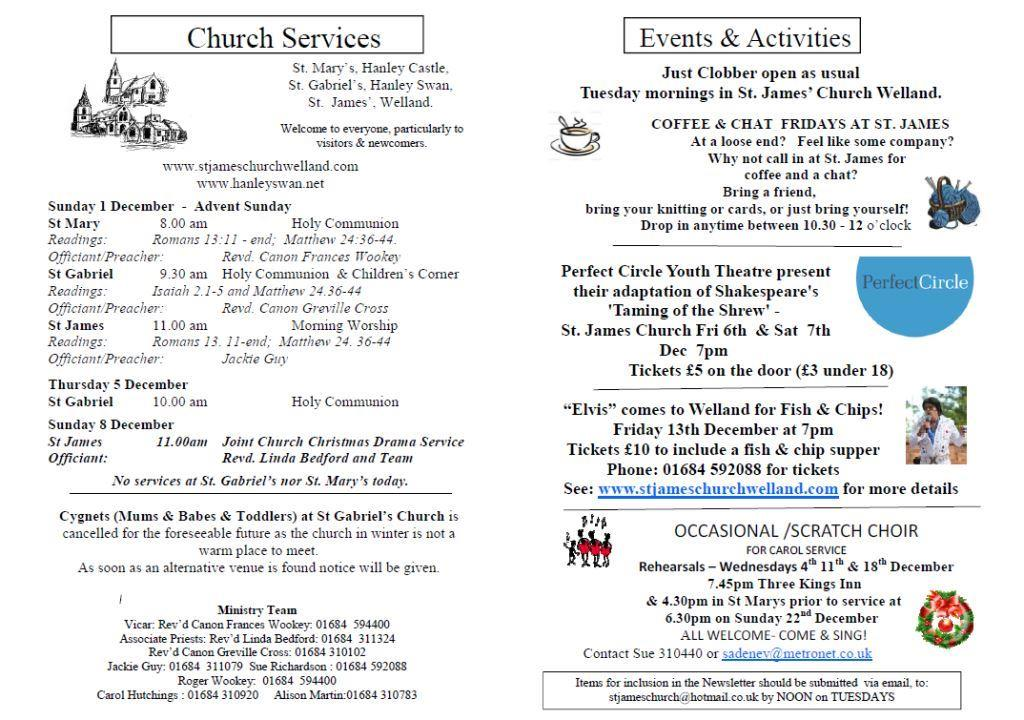 Church News 2013-12-01