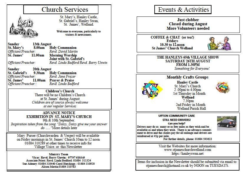 Church News 2017-08-13