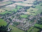 Aerial view of Hanley Swan, from St Gabriel's looking east,2000s