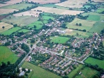 Aerial view of Hanley Swan, from St Gabriel's looking east, 2000s
